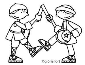 Ball de Miralpeix, Festa Major_Vilanova i la Geltrú | glòria fort _ illustration