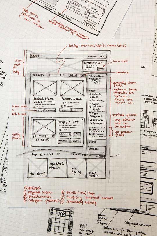 33 Great Examples of Web Design Sketches @Nacho Núñez Martín @Jorge Gordo Moreno @Juan Ruiz Lorite