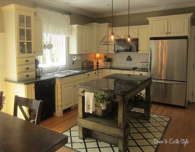 Charming, Vintage inspired kitchen