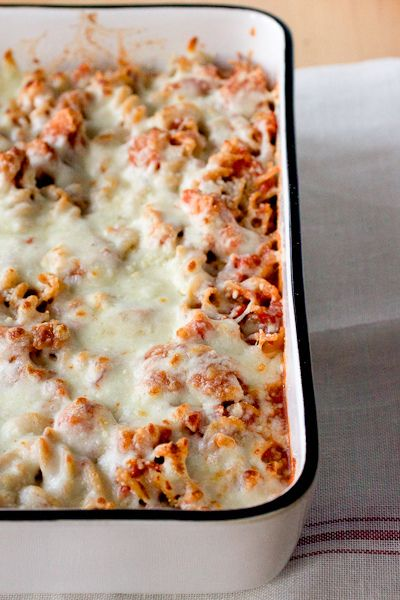 Chicken Parm Baked Pasta by Smells Like Home, via Flickr