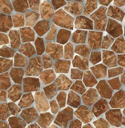 Split Stone Tile Contact Paper | Brick wallpaper and Faux Cement