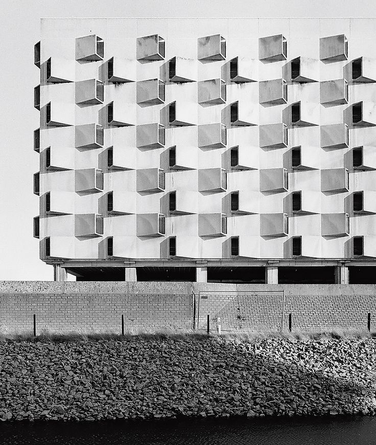 Belgacom, Gent. Car park, Belgium. photo: Philippe Brysse