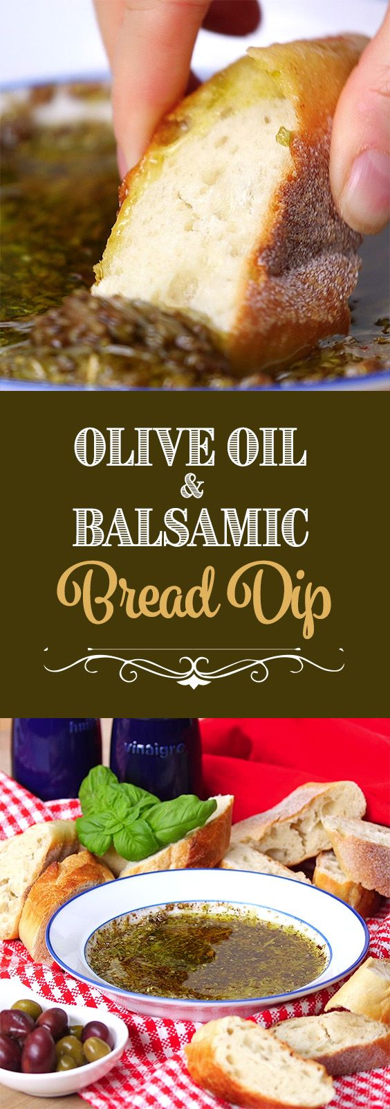 Olive Oil & Balsamic Bread Dip