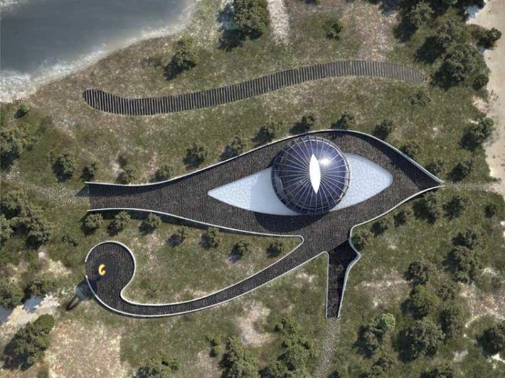 Naomi Campbell's Eye of Horus House - By Luis De Garrido