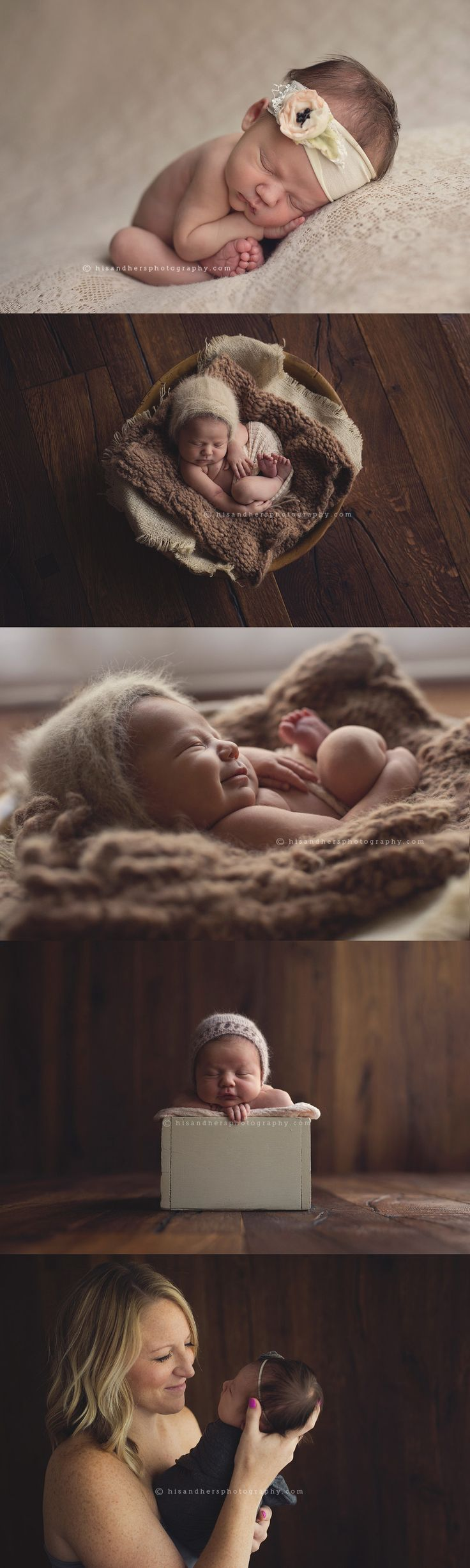 5-day-old Ruby Kate   Des Moines, Iowa newborn photographer, Darcy Milder   His & Hers