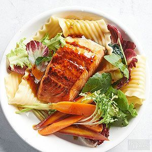 Zesty Salmon Pasta Salad