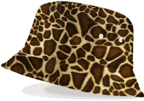 Little Giraffe Bucket Hat - Available Here: http://printallover.me/products/little-giraffe-4