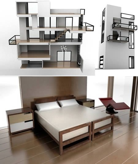1000 Images About Modern Dollhouse On Pinterest
