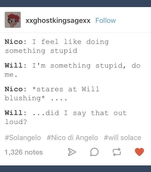 Yes, Will, you did say that out loud.