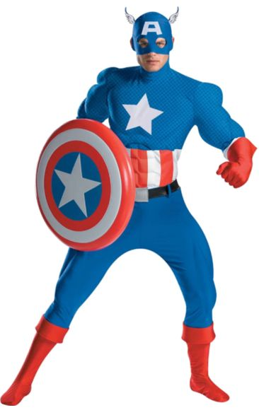 Captain America Costume Rental Quality Costume