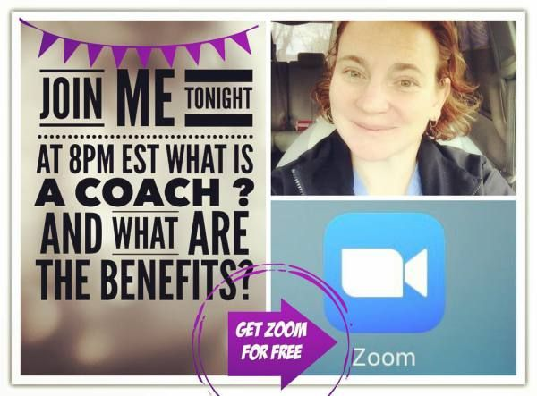 Coaching Opportunity ZOOM CALL