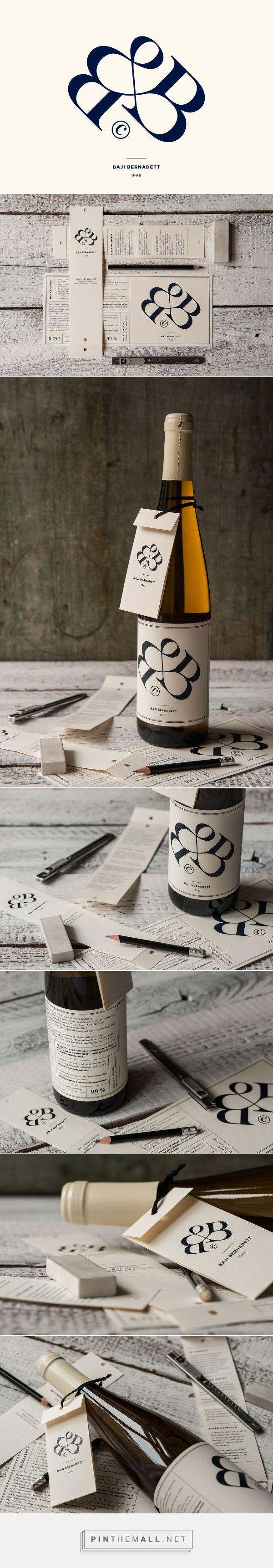 made by Kiss Miklos http://kissmiklos.com/bernadett-bajis-wine-label-cv