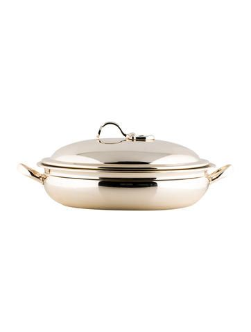 Gucci Silver Plated Chafing Dish #EasterBrunch #TableSetting