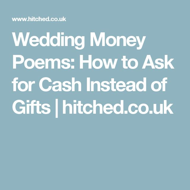 25+ Cute How To Ask For Money Instead Of Gifts Ideas On