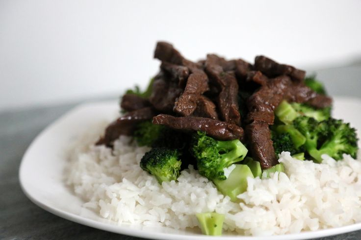 Don't take it out! Stay in and stir-fry Chinese beef and broccoli at home.