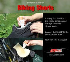 How to prevent chafing and saddle sores for cyclists. #cycling #biking www.2toms.com/