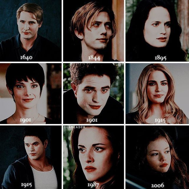 The  year  everyone   Changed to  a  vampire ! &  the  year  Renesmee  was  born  half  human   half  vampire !