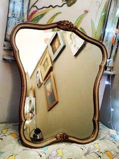 La Bladousse Restauraciones : Restauración de marco con espejo biselado