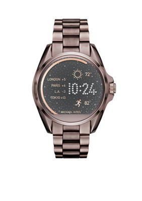 Michael Kors Women's Connnected Women's' Bradshaw Sable Ip Display Watch - Sable - One Size