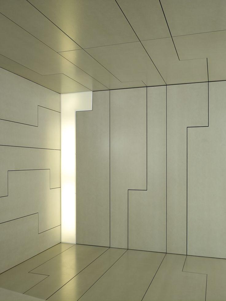 EQUITONE facade panels applied in interior. www.equitone.com