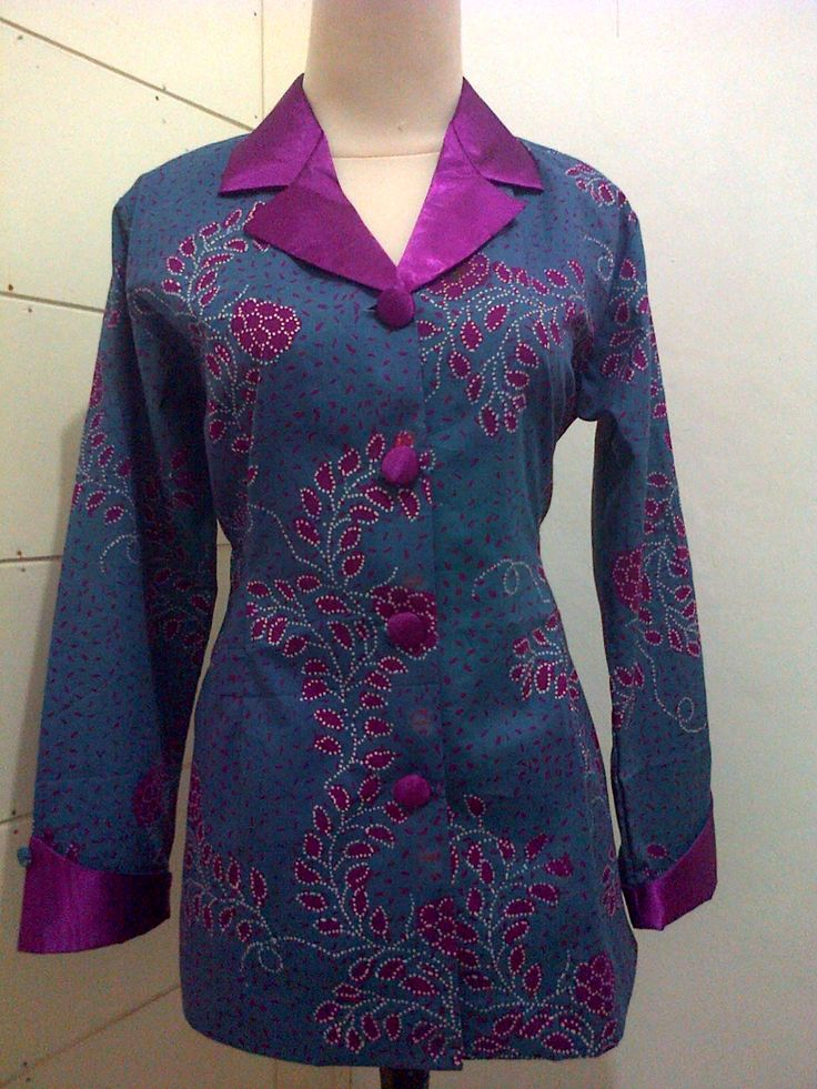 Batik kombinasi satin