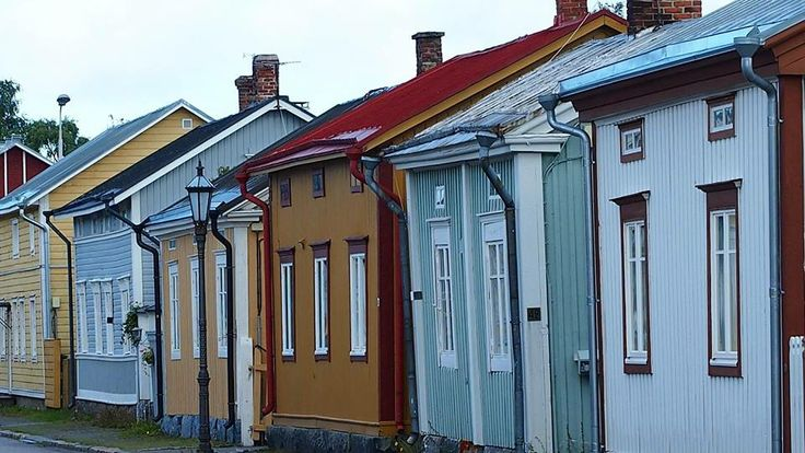Kokkola, Central Ostrobothnia province. The Old Town.
