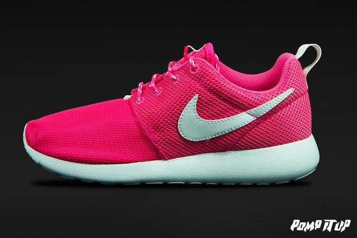 Nike Roshe One (HYPER PINK/WHITE) For Children Sizes: 35 to 40 EUR Price: CHF 90.- #Nike #NikeRosheOne #RosheOne #Sneakers #SneakersAddict #PompItUp #PompItUpShop #PompItUpCommunity #Switzerland