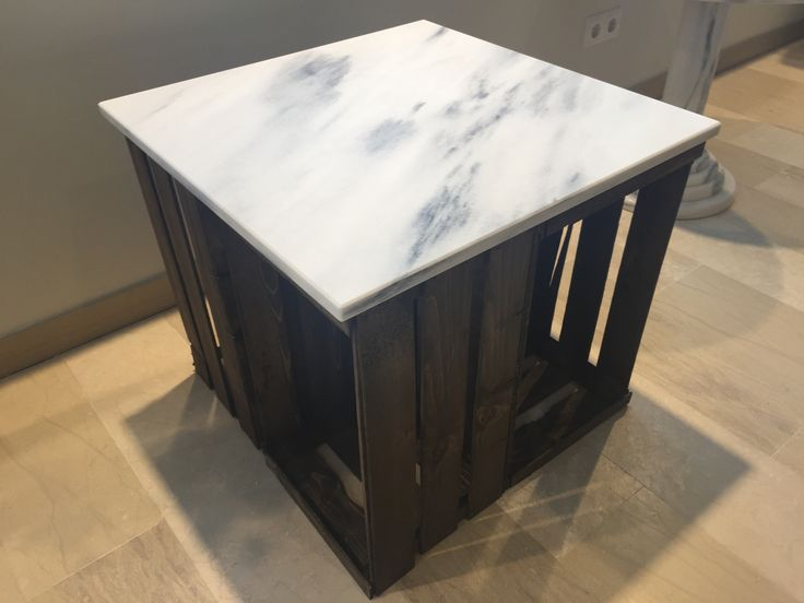 Couch table with Marble
