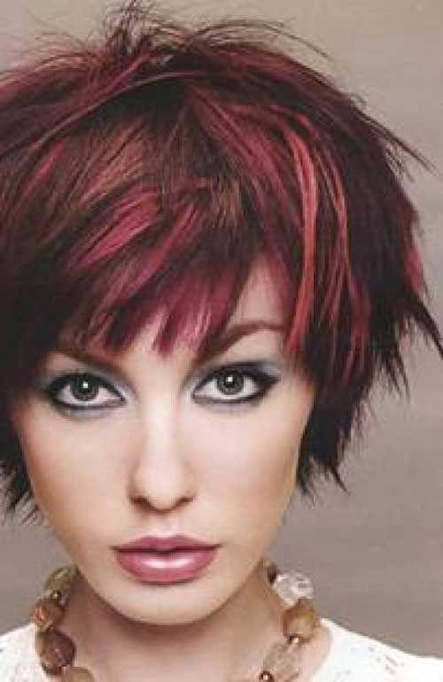 20 Short Hair #Color for Women