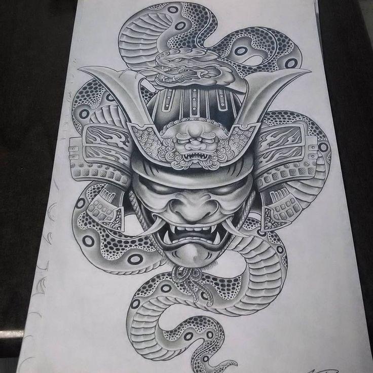 The 25+ best Oni mask tattoo ideas on Pinterest | Japanese ...