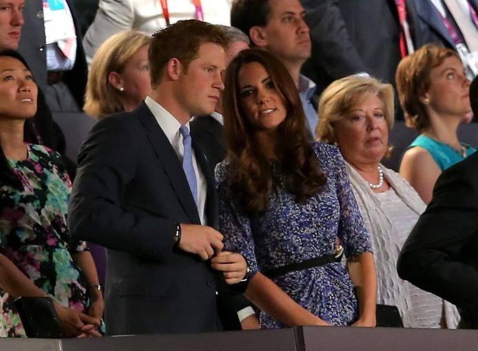 El príncipe Enrique de Gales y la duquesa Catalina de Cambridge han presidido la gala.