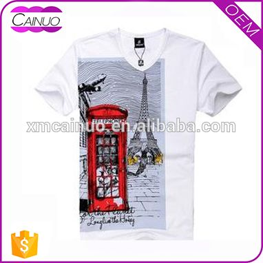 White Unisex Look T-shirt Customise Own Logo Printing Photo, Detailed about White Unisex Look T-shirt Customise Own Logo Printing Picture on Alibaba.com.