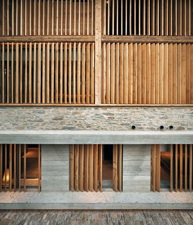 Residential house    Soglio   Ruinelli Associati Architetti