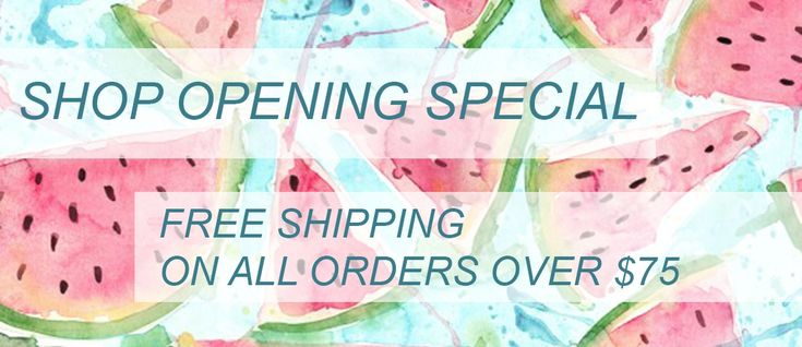 Free Shipping over 75