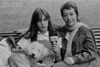 Eleonore Klarwein And Annie Girardot With Dog Photo by cornershop15 | Photobucket