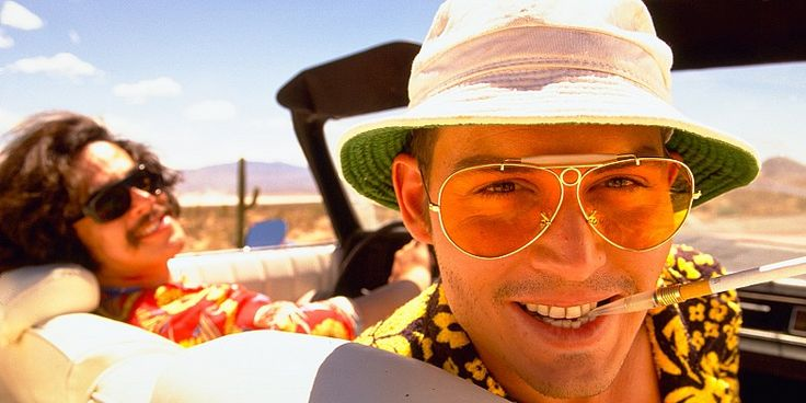 fear and loathing in las vegas johnny depp 10 Most Eccentric Johnny Depp Characters