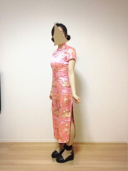 ハロウィン?なのかな! 今日はチャイナ服を着て 夕ご飯の中華料理を作りすぎました😋