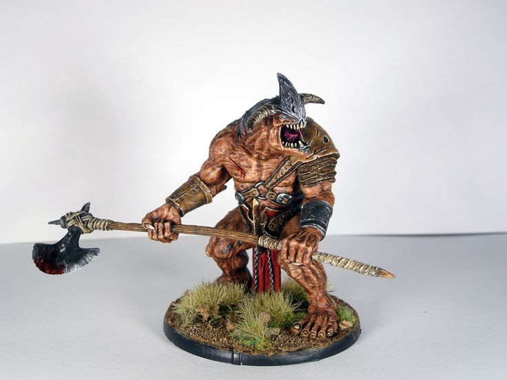 Mierce Miniatures Kaius Obeisant Fiend of Dis