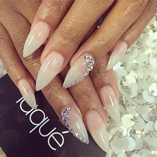 18 Stunning Wedding Nail Designs