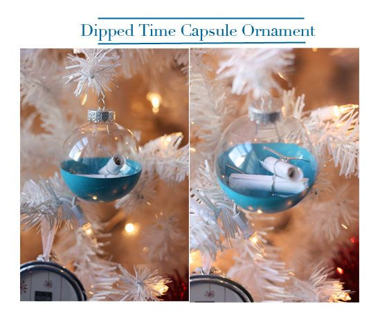 A list of diy christmas ornaments time capsule ornament List of christmas ornaments
