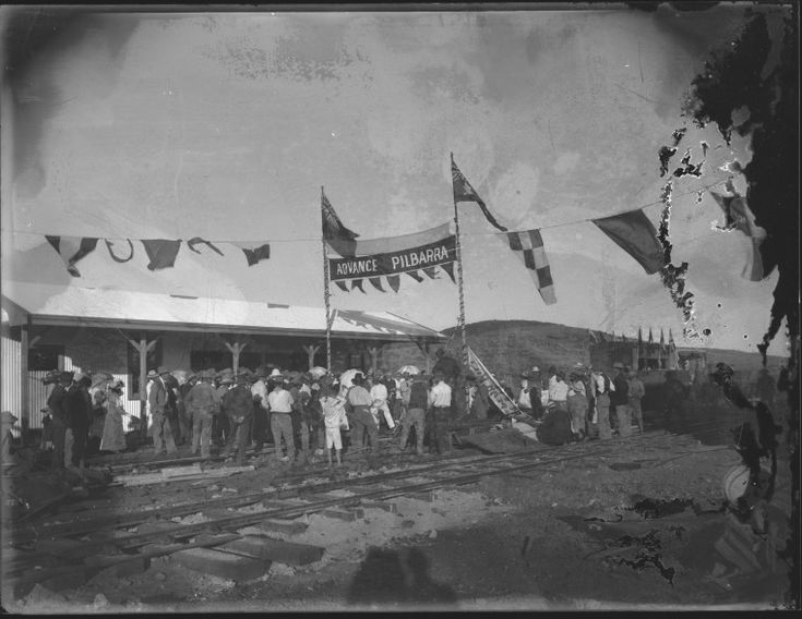 013665PD: Marble Bar, opening of railway, 1911 http://encore.slwa.wa.gov.au/iii/encore/record/C__Rb2940895?lang=eng