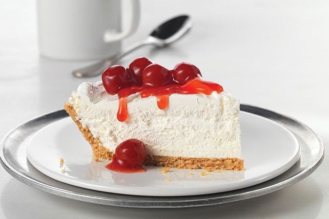 Find out how this no-bake Cherry Cheesecake gets its amazing height. Fluffy? Yes. But this Cherry Cheesecake is sure to dominate the dessert table.