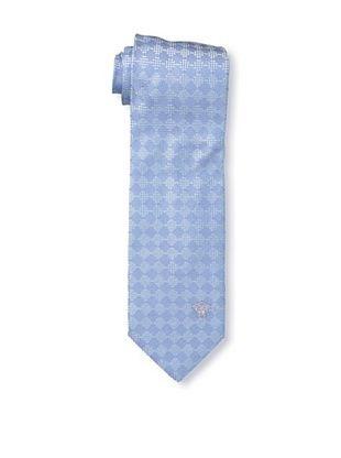 59% OFF Versace Men's Pattern Block Tie, Blue Sky