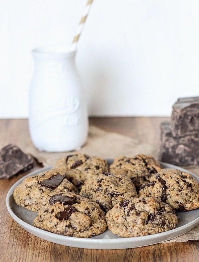 Paleo Chocolate Chip Cookies.