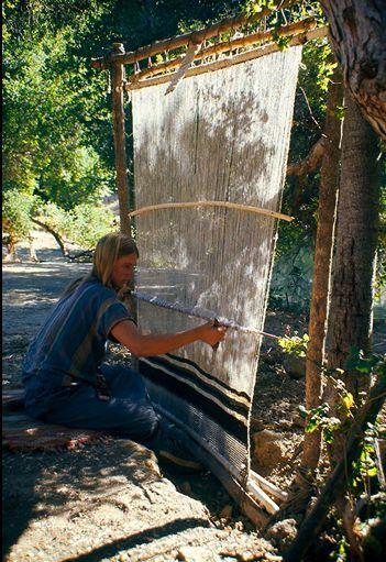beautiful Navajo weaving loom                                                                                                                                                     More