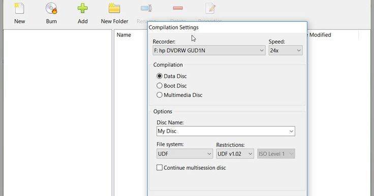 Aπλό ισχυρό δωρεάν λογισμικό εγγραφής το οποίο σας επιτρέπει να γράψετε οποιοδήποτε multisession Bootable CD DVD Blu-ray Disc με διάφορα συστήματα αρχείων συμπεριλαμβανομένων των προτύπων ISO 9660 και UDF και να δημιουργήσετε CD DVD Blu-ray Disc δεδομένων και MP3. Eύκολο στη χρήση και κυρίως με χαμηλή χρήση των πόρων της CPU κατά τη διάρκεια οποιασδήποτε διαδικασίας. Υποστηρίζει CD-R/RW DVD-R/RW DVD  R / RW  BD-R/RE και DL.True Burner 4.6Author's Website: ΛΕΙΤΟΥΡΓΙΚΟ ΣΥΣΤΗΜΑ: Windows