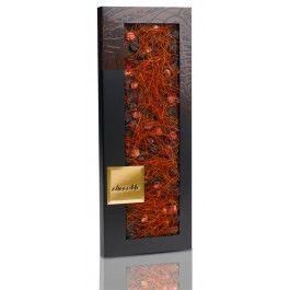 Chocolate Negro ChocoMe con Grosella Negra, Arándano Rojo y filamentos de Chile para #maridar con vino #cabernetsauvignon €8,90