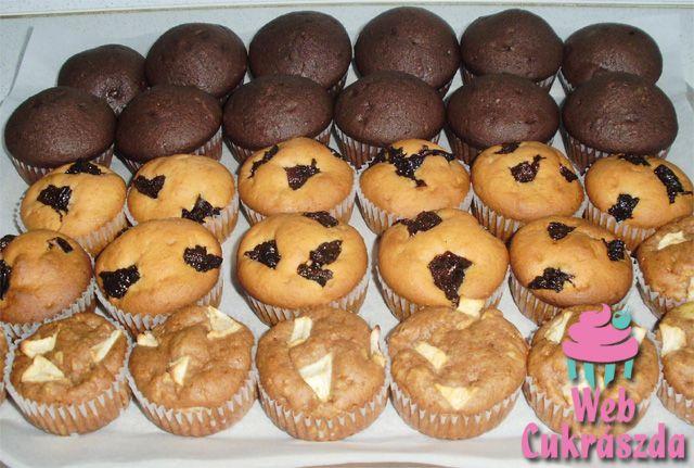 Muffin (alaprecept és ízesítettek)