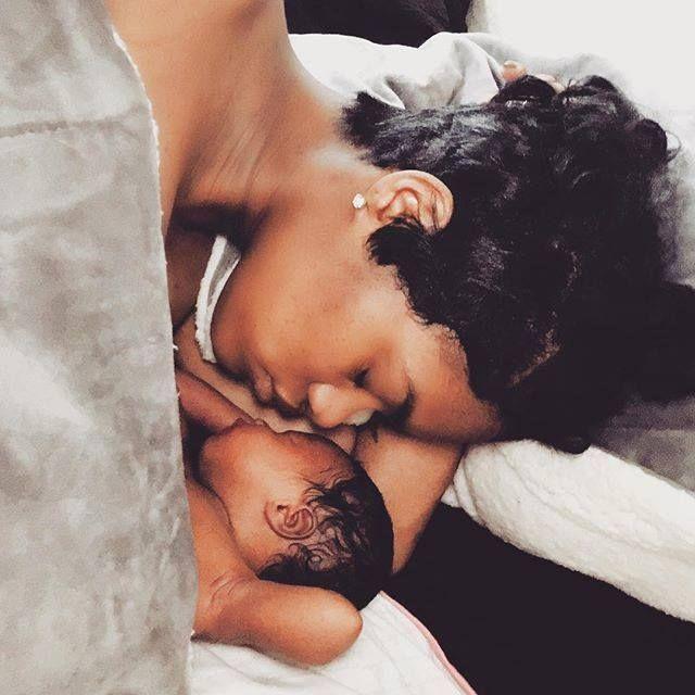 Teyana Taylor & his baby
