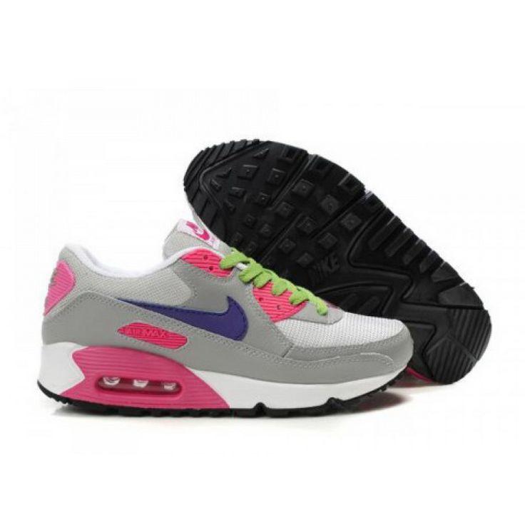 Nike Air Max 90 Premium Grey Pink White DW03002